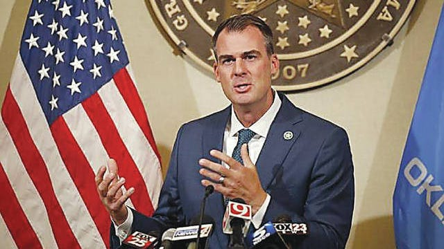 Gov. Kevin Stitt intends to participate in the grand entrance of the Working Ranch Cowboys Association ranch rodeo in June.
