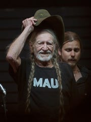 Willie Nelson, seen performing at the 2017 Stagecoach country music festival, performs Saturday at The Show in Rancho Mirage.