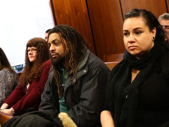 Edward Forchion, also known as NJ Weedman (center) at the court hearing of Jon Peditto, who was sentenced to eight years in prison for growing 17 marijuana plants in the Pinelands.
