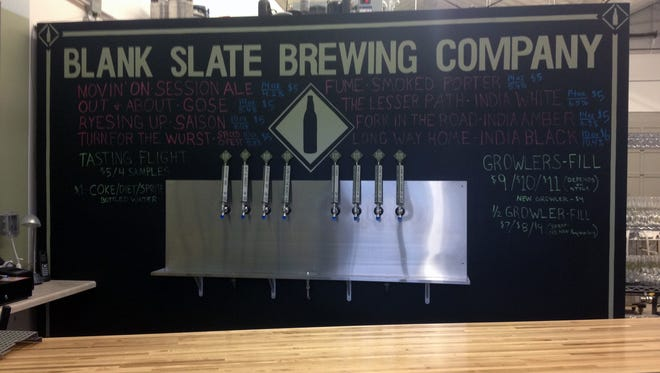 Blank Slate Brewing Company's PourHouse in the East End.