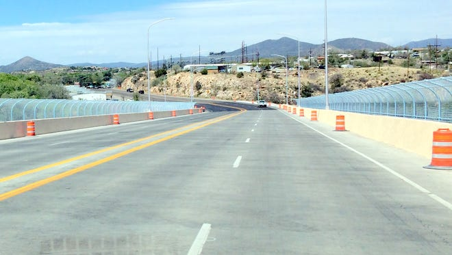 The Hudson Street Bridge on NM 90 is nearing completion with a few more issues that need to be addressed.