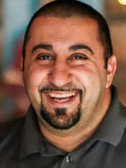 Jamil Azar, co-owner of Basement Burger