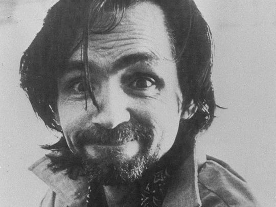 Photo dated 1978 of convicted mass murderer Charles Manson.
