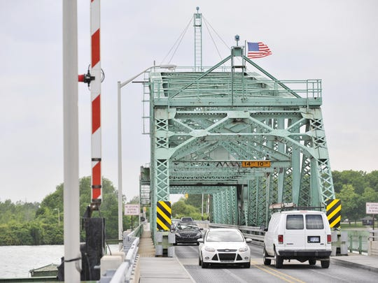 The bridge, closed for more than a week, re-opened at 3:30 p.m.