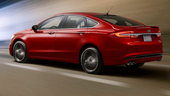 Ford's Fusion Sport will pack 325 horsepower