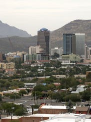 Tuscon, in 67th place, was the only Arizona city besides