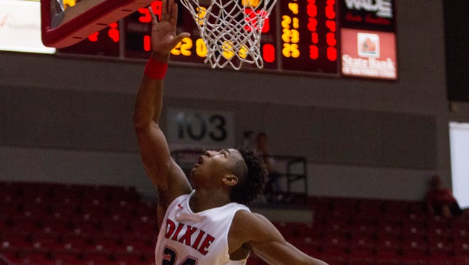 Dixie State basketball takes on the Antelope Valley Pioneers Saturday, Oct. 29, 2016.