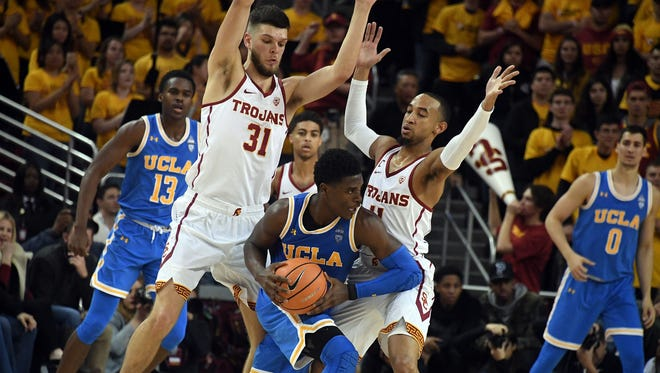 UCLA and USC are among several Pac-12 basketball teams on the bubble for the NCAA Tournament.