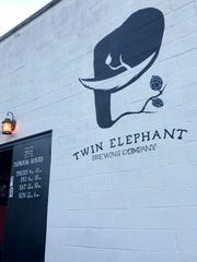 Outside of Twin Elephant Brewing,