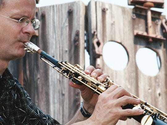 An assistant professor of jazz saxophone at the Eastman