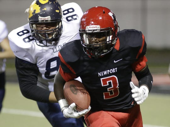 Newport's Tyree Bolden is one of the Wildcats' top returning offensive players.