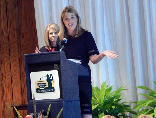 Jenna Bush Hager speaks to crowd of over 400 women