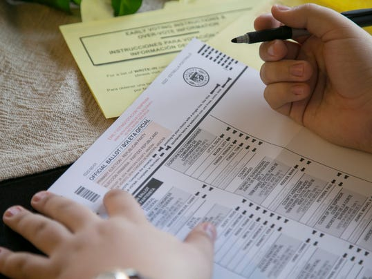 Arizona ballot