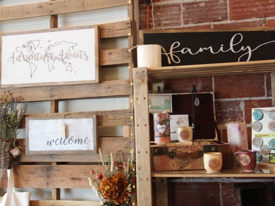 Live Local Marketplace features handcrafted gifts made