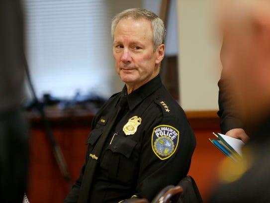 Milwaukee Police Chief Edward Flynn was in attendance