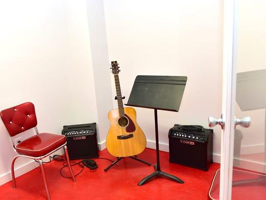 The new Fondren Guitars School of Music feature more