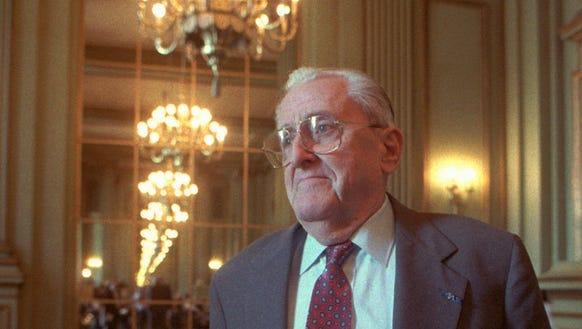 Former deputy CIA director Vernon Walters in 1995.