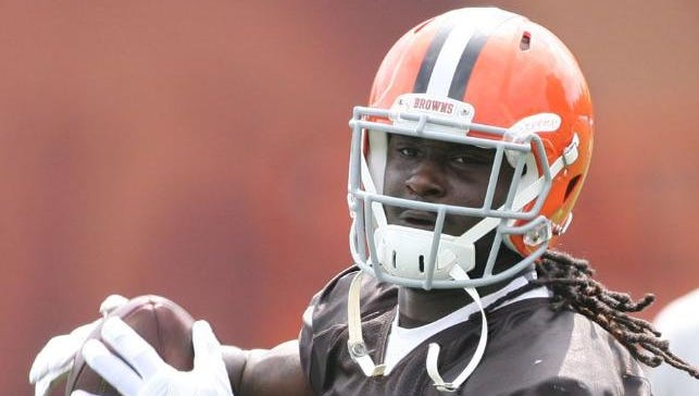 After rushing for two touchdowns in his NFL debut last week, former Alabama State star Isaiah Crowell saw action in Cleveland's second game Sunday against the New Orleans Saints.