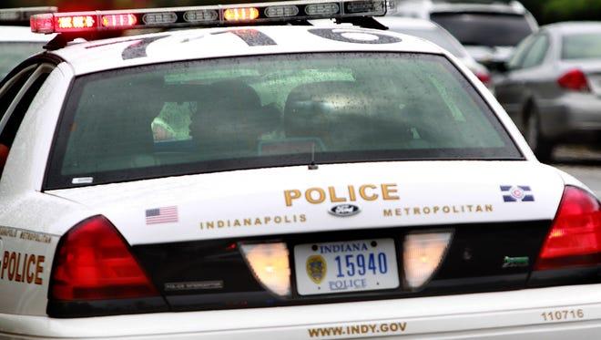 IMPD police car