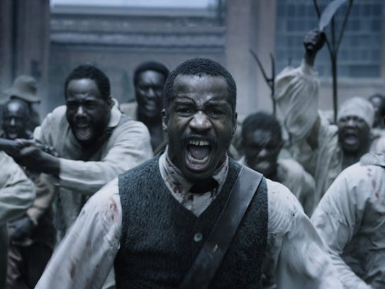 Nate Parker brings the story of the 1831 slave rebellion