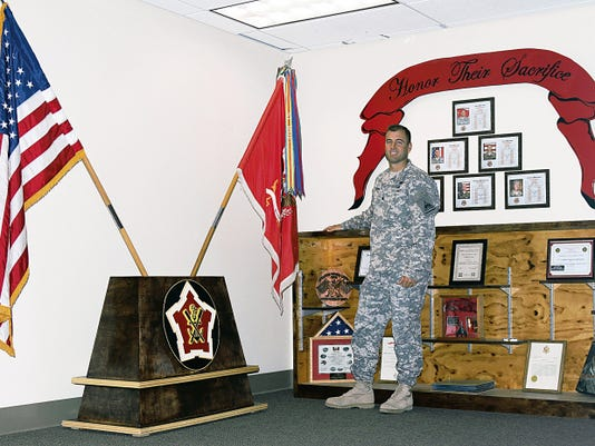 Lt. Col. Jeremy Jiggs Chapman is the new commander of the 2nd Engineer Battalion, formerly Special Troops Battalion.