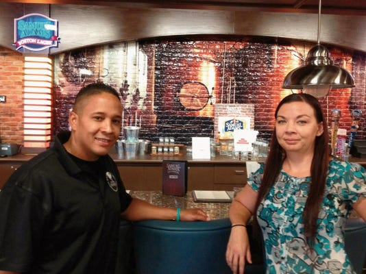 El Pasoans and Fort Bliss civilian employees Don Diego Aguilar, left, and Tabitha Bohn are being honored by the Army.
