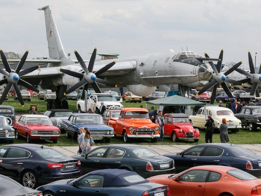 EPA UKRAINE MOTOR SHOW EBF LIBRARIES & MUSEUMS TRANSPORT UKR UK