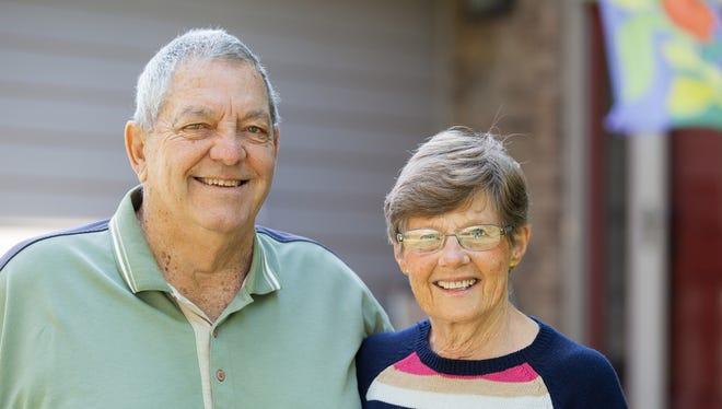 Jim and Sheila Stout