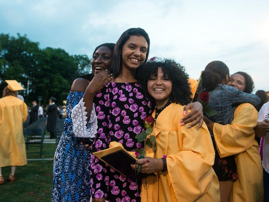 Red Lion students celebrate graduation, Friday, June 1, 2018.