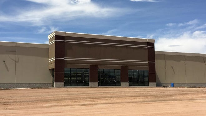 The Alamogordo Hobby Lobby at White Sands Mall is projected to open in mid-May. Construction will be completed by the end of next week.