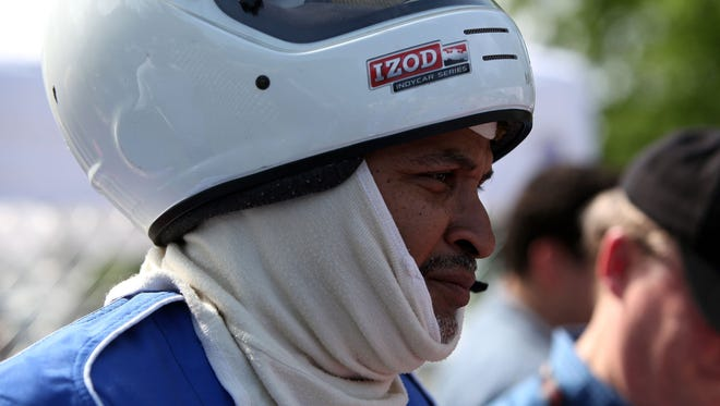 Detroit Free Press Columnist Drew Sharp died on Oct. 21, 2016. Sharp was a sports columnist since 1999. In 2013, Sharp participated in the Media Go-Cart Challenge at the Quicken Loans go-kart track on Belle Isle Wednesday, May 29, 2013  in Detroit, Mich.