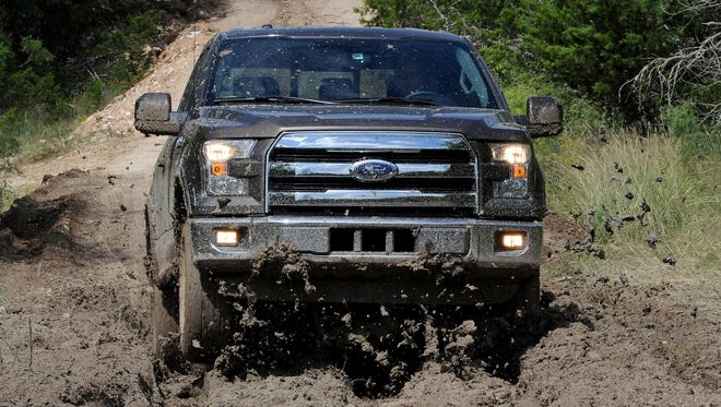 2015 Ford F-150.