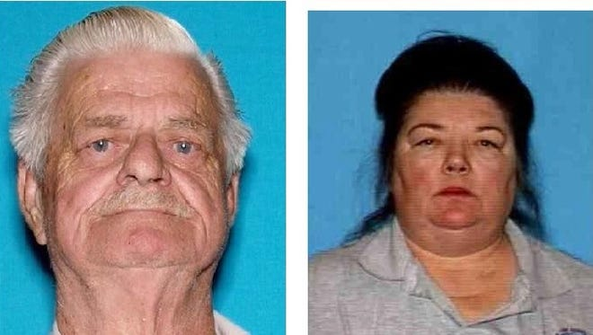 Cecil Knutson and Dianna Bedwell disappeared while on their way to La Quinta, according to authorities.