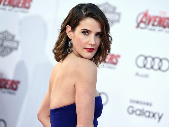 Cobie Smulders arrives at the Los Angeles premiere
