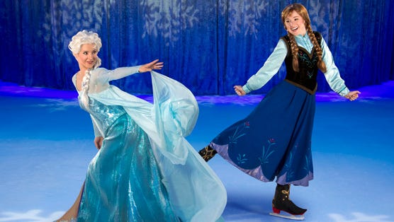 Disney On Ice Presents Frozen.