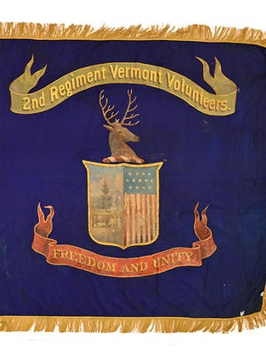 Flag of the 2nd Vermont Regiment.