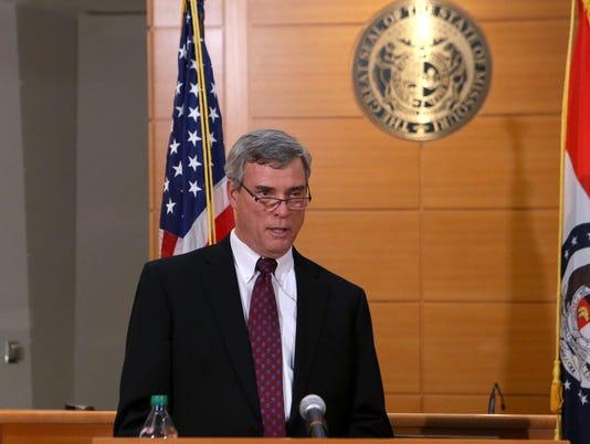 St. Louis County Prosecutor Robert McCulloch