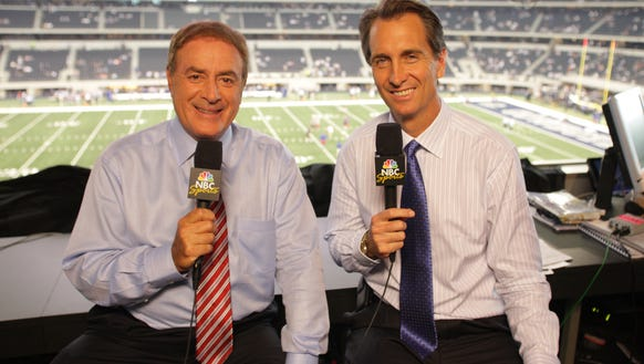Emmy winning analyst cris collinsworth joined al michaels