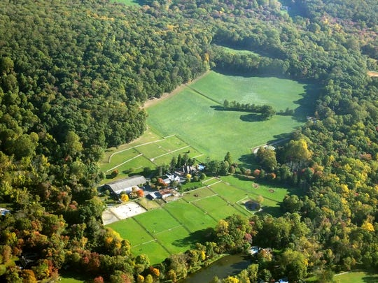 A look at the 51-acre property.