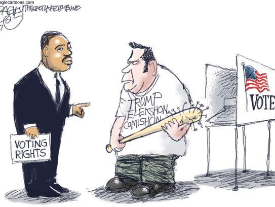 Pat Bagley, Salt Lake Tribune, drew this editorial