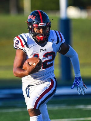 Jaylen Gilbert (pictured) and teammate Marquise Scott have enrolled at Pickerington North after transferring from Centennial.