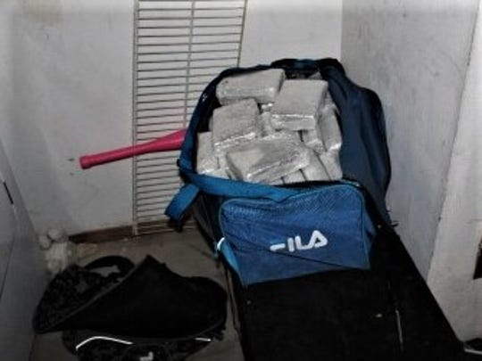 Marijuana packages found in home in 1600 block of Paul Todd Drive in far East El Paso.