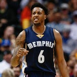 Mario Chalmers ruptured his right Achilles tendon Wednesday