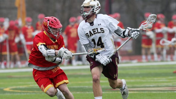 Chaminade defeated Iona 10-2 in lacrosse action at