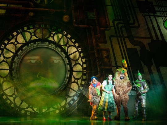 """The new national tour of """"The Wizard of Oz"""" runs Dec. 15-20 at the Des Moines Civic Center."""