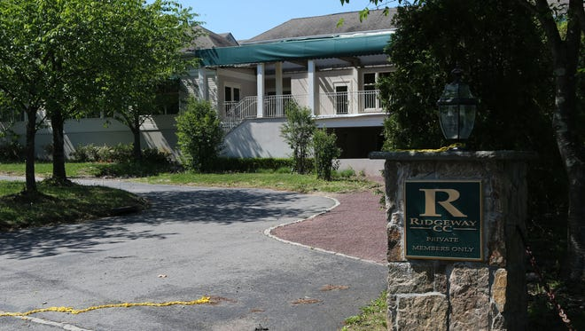 A view of the former Ridgeway Country Club, where the French American School of New York hopes to build a school. A management company wants to buy the property and make it a golf course again.