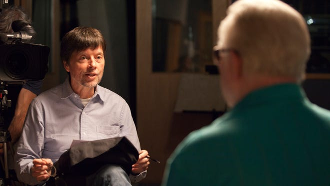 "File: Ken Burns interviews Billy Sherrill for the upcoming documentary ""Country Music."" Production of the eight-part series began in 2012, and, in some ways, documenting became a race against time. Sherrill died in August."