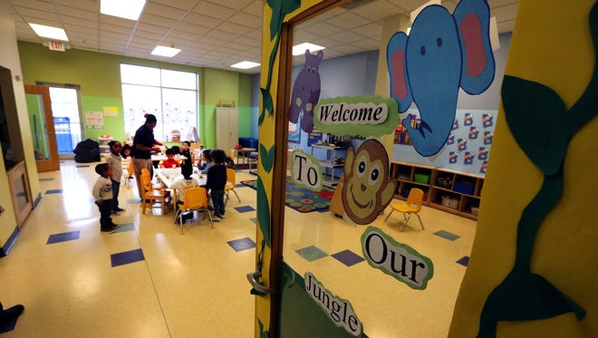 One of the rooms at the newly opened day care center at Somerset Community Action Programin Franklin.