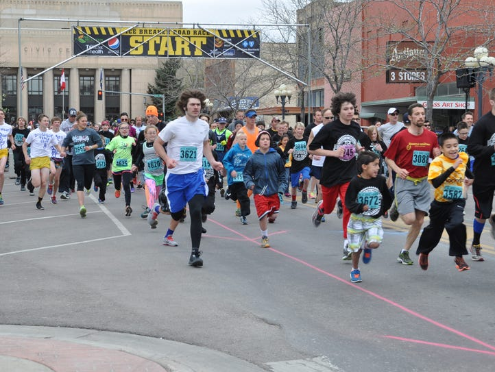 This year's Ice Breaker run is scheduled for April