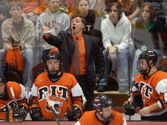 RIT coach Wayne Wilson said veteran NHL general manager